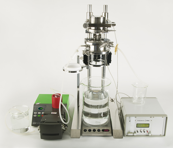 Open 13 nozzles system with peristaltic pump